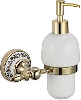 Дозатор жидкого мыла Savol S-В06831 (золото) -