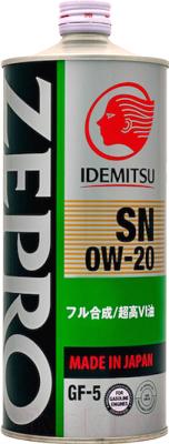 Моторное масло Idemitsu Zepro Eco Medalist 0W20 SN/GF-5 / 3583054 (1л)