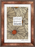 Рамка ПАЛИТРА 3015/43 40x50 (медный) -