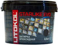 Фуга Litokol Starlike Evo S.145 (2.5кг, угольно черный) -