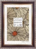 Рамка ПАЛИТРА 3015/82 60x80 (коричневый) -