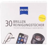 Комплект салфеток для очистки очковых линз Zeiss Универсальные чистящие (30шт) -