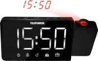 Радиочасы Telefunken TF-1703 (черный/белый) -