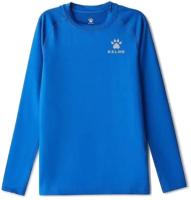 Термокофта детская Kelme Tech Fit Long Sleeve Thick Kids / 3893113-400 (140, синий) -