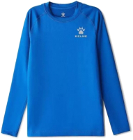 Термокофта детская Kelme Tech Fit Long Sleeve Thick Kids / 3893113-400 (160, синий) -