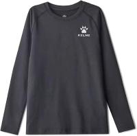Термокофта детская Kelme Tech Fit Long Sleeve Thick Kids / 3893113-000 (160, черный) -