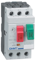 Автоматический выключатель пуска двигателя Chint NS2-25 1-1.6А R / 495077 -