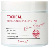 Пилинг для лица Esthetic House Toxheal Red Glyucolic Peeling Pad (100шт) -