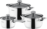 Набор кухонной посуды Ardesto Gemini Gourmet / AR1906PS -