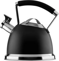 Чайник со свистком Ardesto Black Mars / AR0747KS (2.5л, черный) -
