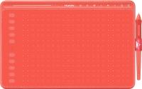 Графический планшет Huion HS611 (коралловый красный) -