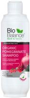 Шампунь для волос Bio Balance С экстрактом граната для окрашенных и поврежденных волос (330мл) -
