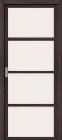 Дверь межкомнатная el'Porta Твигги-V4 80x200 (Wenge Veralinga/Magic Fog) -