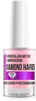Лак для укрепления ногтей LUXVISAGE Diamond Hard с микроблеском против сколов и расслаивания (9г) -
