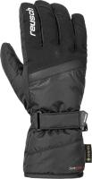 Перчатки лыжные Reusch Sandor GTX / 4901327 7701 (р-р 8.5, Black/White) -