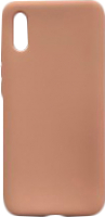 Чехол-накладка Digitalpart Silicone Case для Redmi 9A (розовый) -