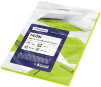 Бумага OfficeSpace 245194 (50л, неон зеленый) -