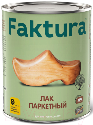 Лак Ярославские краски Faktura паркетный (700мл, глянец)