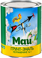 Эмаль Ярославские краски Май на ржавчину 3 в 1 (800г, синий) -
