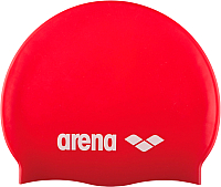 Шапочка для плавания ARENA Classic Silicone JR 91670 44 (Red/White) -