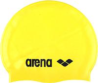 Шапочка для плавания ARENA Classic Silicone Cap 91662 35 (Yellow/Black) -