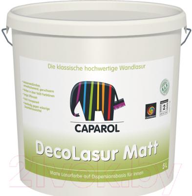 Лазурь для древесины Caparol CD Deco-Lasur Matt (2.5л)