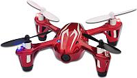 Квадрокоптер Hubsan H107C (красный/серый) -