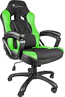 Кресло геймерское GENESIS Nitro 330 NFG-0906 Gaming (черный/зеленый) -