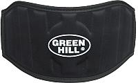 Пояс для пауэрлифтинга Green Hill WLB-6732A (L, черный) -