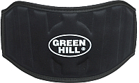 Пояс для пауэрлифтинга Green Hill WLB-6732A (XL, черный) -
