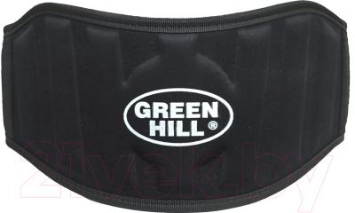 Пояс для пауэрлифтинга Green Hill WLB-6732A (XL, черный)