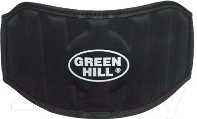 Пояс для пауэрлифтинга Green Hill WLB-6732A (XXL, черный)