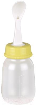 Бутылочка для кормления Pigeon с ложечкой / 03012 (120мл)