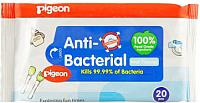 Влажные салфетки Pigeon с антибактериальным эффектом 10869 -