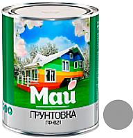 Грунтовка Ярославские краски Май универсальная ГФ-021 (0.9кг, серый) -