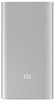Портативное зарядное устройство Xiaomi Mi Power Bank 2 5000mAh VXN4226CN / VXN4236GL (серебристый) -