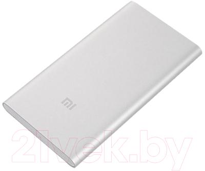 Портативное зарядное устройство Xiaomi Mi Power Bank 2 5000mAh VXN4226CN / VXN4236GL (серебристый)