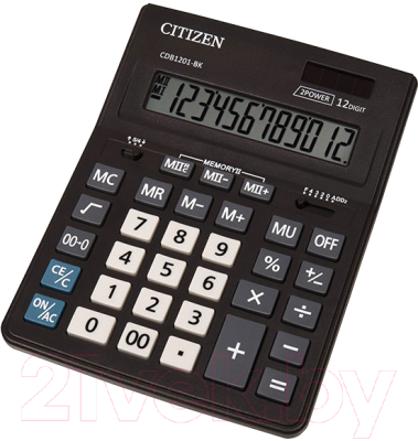 Калькулятор Citizen CDB-1201
