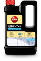 Средство для очистки после ремонта Bagi Цементин для удаления цемента и извести (500мл) -