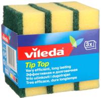 Набор губок для мытья посуды Vileda Тип-Топ (3шт) -