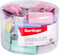 Зажим для бумаги Berlingo BC1232m -