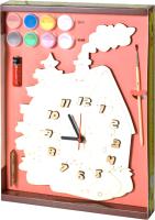 Набор для творчества Нескучные игры Домик. Часы с циферблатом / ДНИ113 -