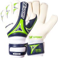 Перчатки вратарские 2K Sport Evolution Pro / 124916 (р.10, темно-синий/светло-зеленый) -