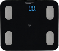 Напольные весы электронные Scarlett SC-BS33ED46 (черный) -
