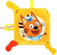 Игрушка-грелка детская Мякиши Малышарики Три кота Коржик №1 / 475 -
