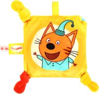 Игрушка-грелка детская Мякиши Малышарики Три кота Компот №1 / 479 -