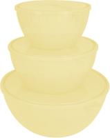Набор салатников Plastic Republic Bono GR1871СЛ (сливочный крем) -