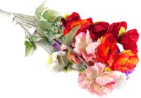 Искусственный цветок Белбогемия Мак FL4004 / 78225 -