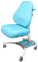 Кресло растущее Rifforma Comfort-33 (голубой, с чехлом) -