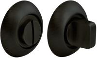 Фиксатор дверной защелки Morelli MH-WС BL (черный) -
